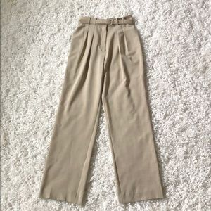 Women's Belted Trousers